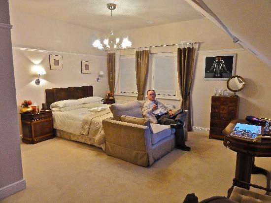 Dungarvan, أيرلندا: Elegant bedroom