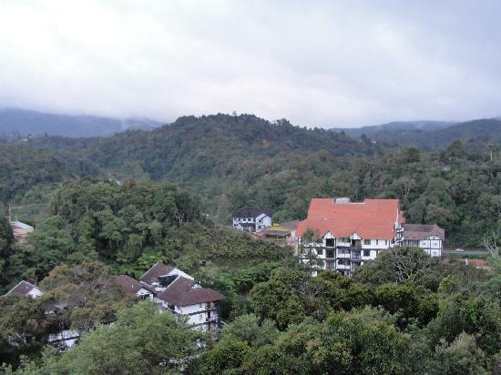 Tanah Rata, Malaysia: Blick aus dem Hotelzimmer
