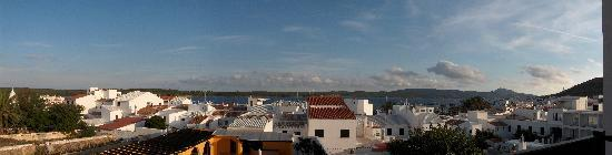 Fornells, España: panoramic view from balcony