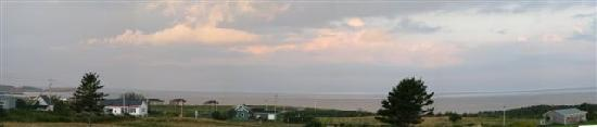Ocean Haven Bed & Breakfast : Sunrise view from Ocean Haven B&B