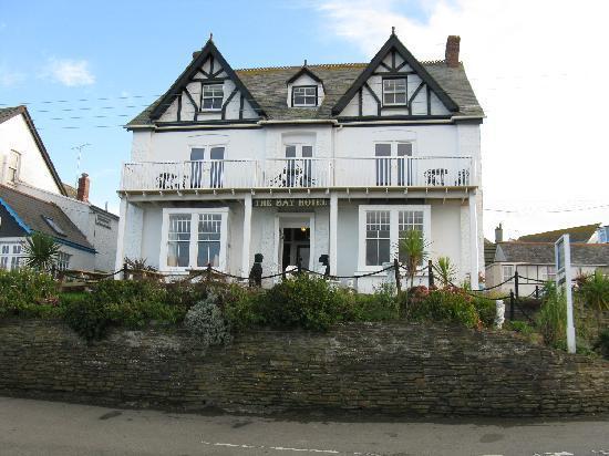 The Bay Hotel: The Bay Hotel, Port Isaac, Cornwall