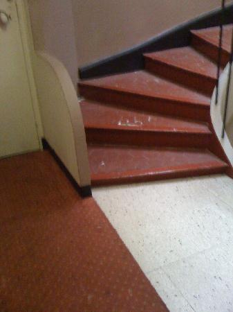 Claremont Hotel : la propreté des couloirs