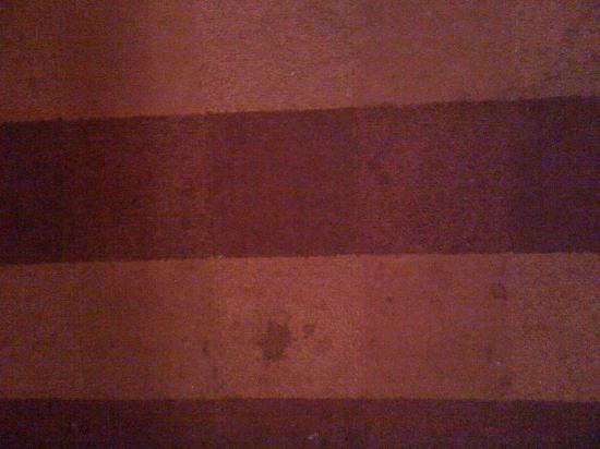 Claremont Hotel : le tapis de la chambre