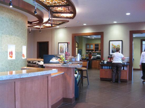 Hyatt Place Columbus/OSU: Breakfast area