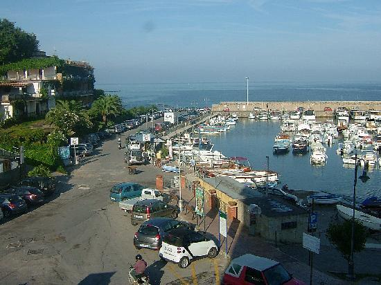 Castellabate, Italy: view from the balcony