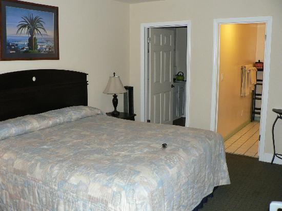 blue sands motel chambre lit king size - Chambre Lit King Size