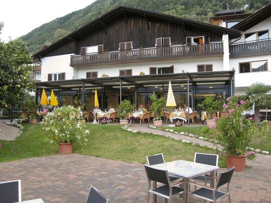 Hotel Residenz Pazeider: Terrace