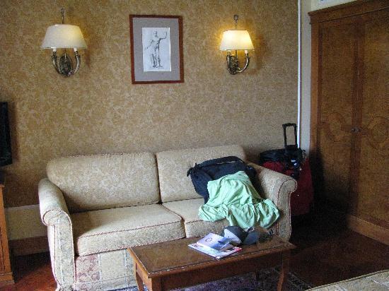 Villa Morgagni: couch