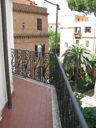 Villa Morgagni: balcony