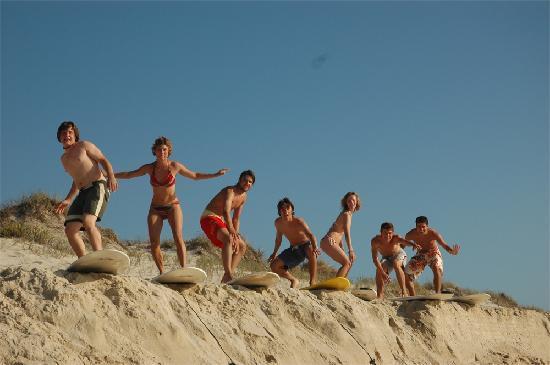 Careca Surfcamp: Gruppenfoto
