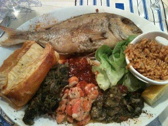 U Pescadori : Le plat principale Dorade royale
