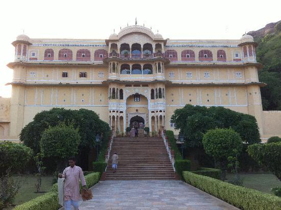 Samode Palace: Hoteleingang