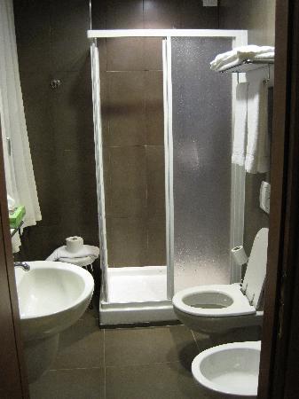 Bathroom at Hotel Margherita
