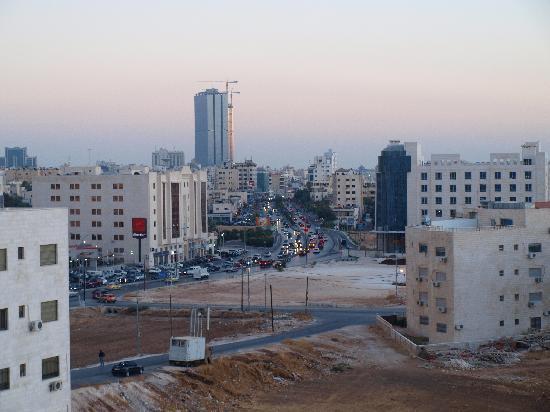 Holiday Inn Amman : vistas
