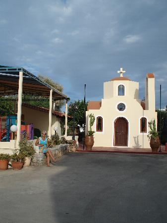 St. Constantin Hotel : Beautiful Church in the hotel complex