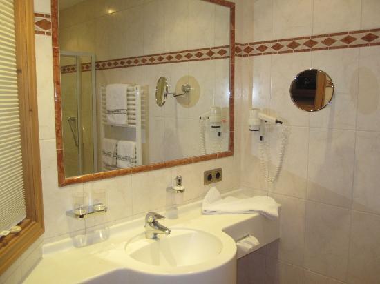 Hotel Restaurant Laschenskyhof: bathroom