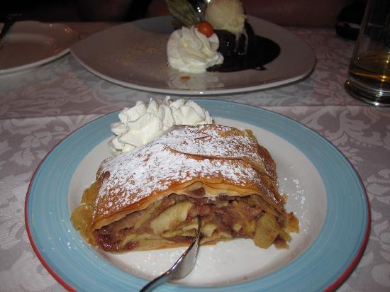 Hotel Restaurant Laschenskyhof: desserts