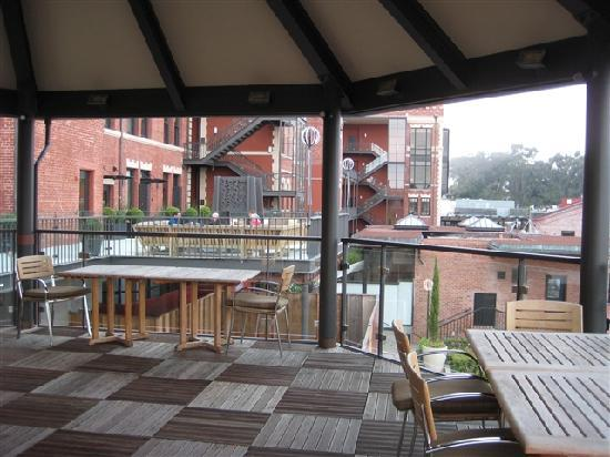 Fairmont Heritage Place, Ghirardelli Square: Terrace