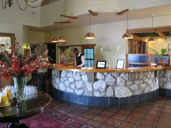 Oakhurst Hotel: Reception