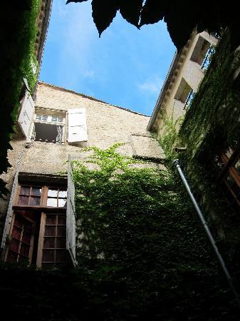 Hotel De Vigniamont: courtyard