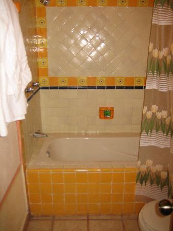 Bernal, México: el baño con tina