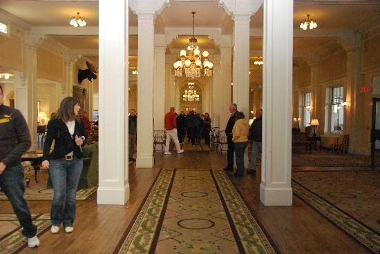 The Townhomes at Bretton Woods : Mount Washington Hotel Lobby