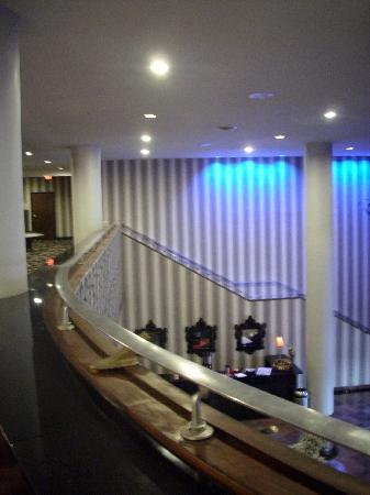 Wyndham Garden Norfolk Downtown: Mezzanine View to Lobby