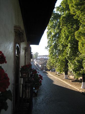 Hotel Mansion Iturbe: otra vista desde el balcon