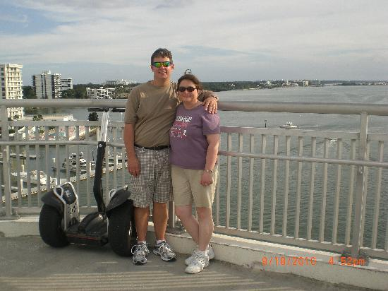 Clearwater Gliders Segway Adventures: With our fun ride on the bridge