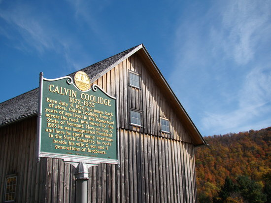 Plymouth, VT: Calvin Coolidge