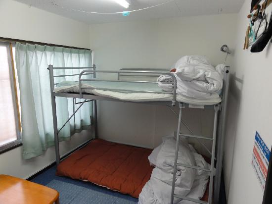 Guesthouse Yahata: The bunk beds.