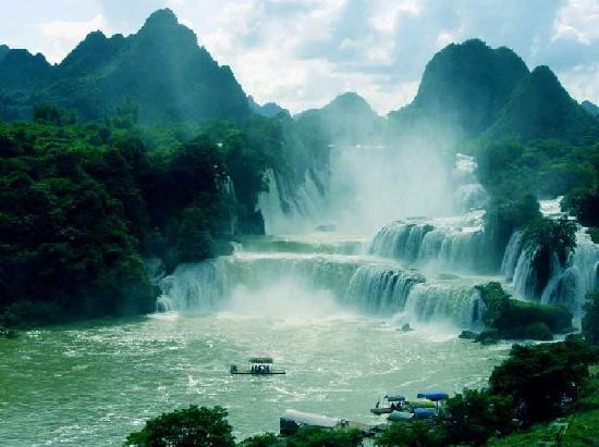 typical guangxi landscape