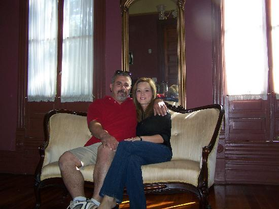 "The Fitzpatrick Hotel: My Wife and I in the ""honeymoon"" suite"