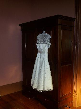 The Fitzpatrick Hotel: Her dress hanging up in the room