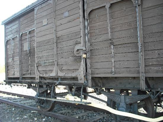KrakowTrip.com - Tours: Carriage used to transport people to camps