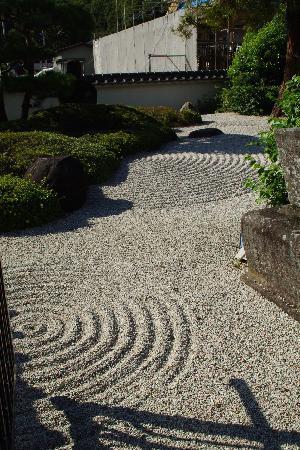 Tokoji Temple: 蘭渓道隆の作になる庭園の一部です。