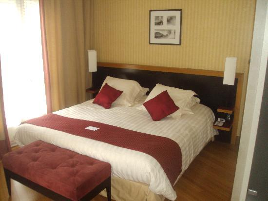 Mercure Montpellier Antigone: Bed