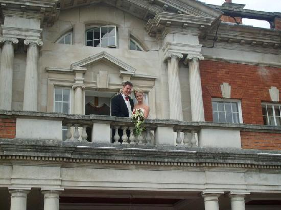 Eaves Hall: The Balcony of the honeymoon suite is wonderful for pictures