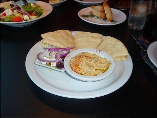 Dorio Cafe & Taverna: Hummus Plate