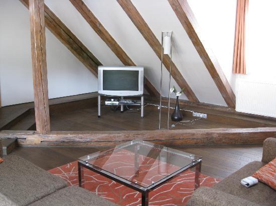 Residence Rybna - Prague City Apartments: Living room-Apartment no.31 in residence Rybna