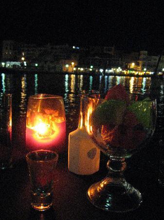 Ханья, Греция: apéritif du soir