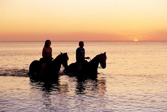Bazaruto, Ilha do, Mozambique: Horse riding