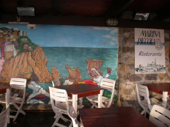 Hotel Marina Piccola: The Breakfast Room mural.