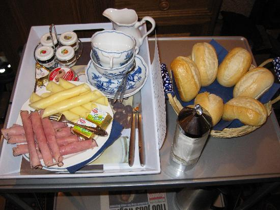 Pension VITIS: Frühstück