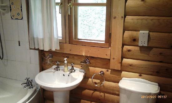 Hoseasons Gadgirth Lodges: bathroom