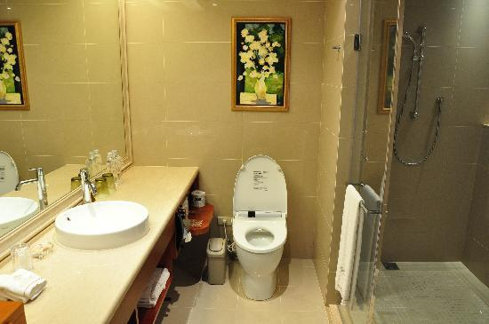 San Want Residences: clean, spacious toilets with Japanese system
