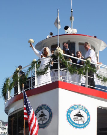 Patriot Cruises : Patriot Weddings