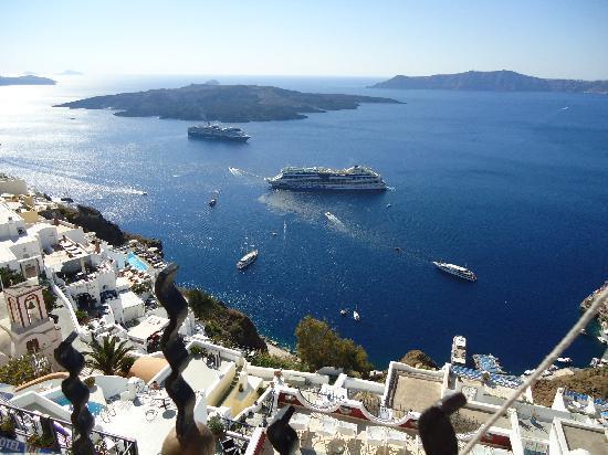 Atlantis Hotel: view from balcony