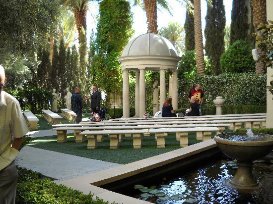 Venus Garden Picture Of Caesars Palace Las Vegas