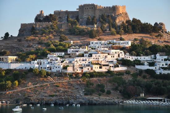Melenos Lindos Hotel: Lindos, the acropolis and Melenos